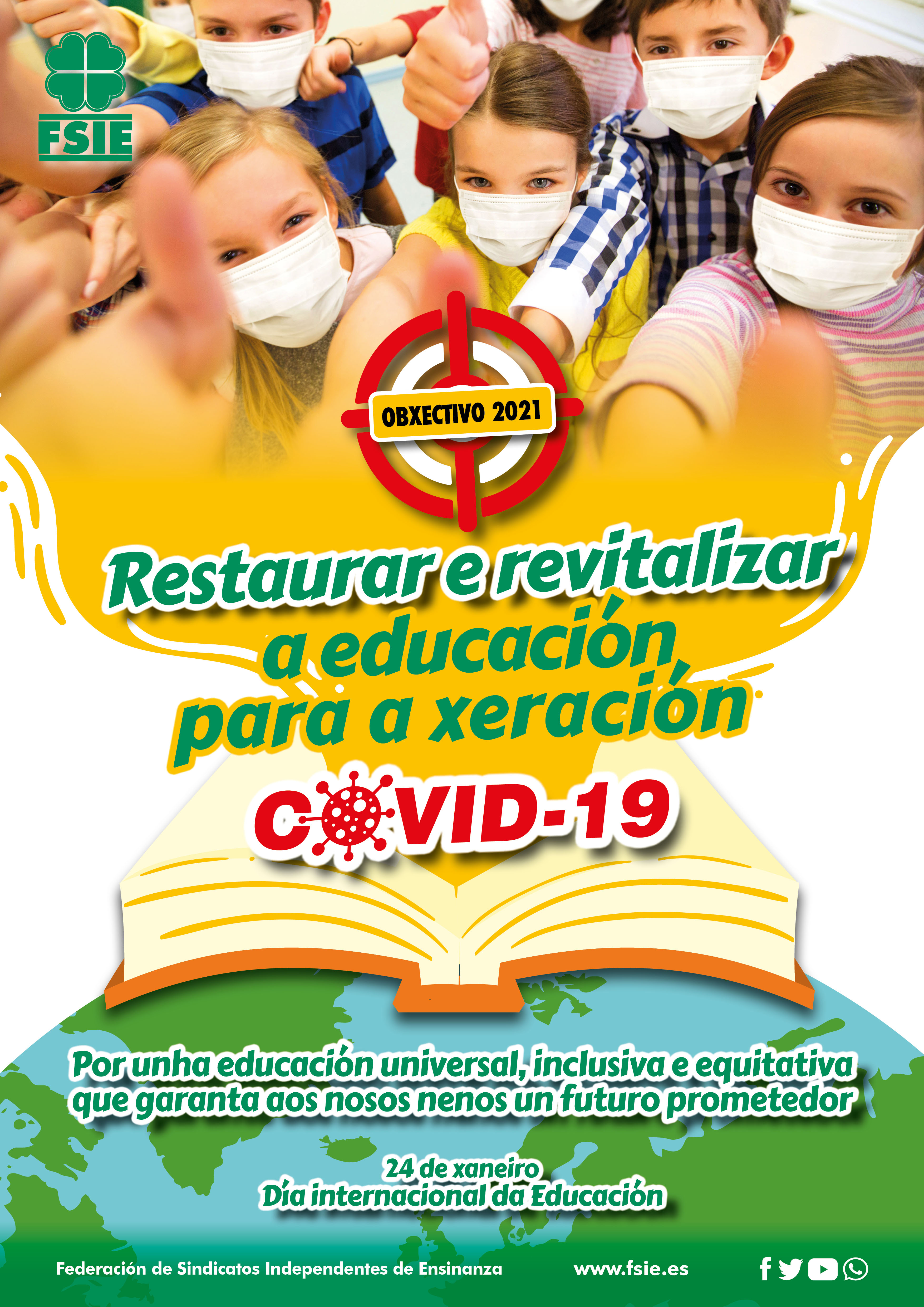 Cartel A3 Dia Internacional Educa 24 01 2021 Gallego