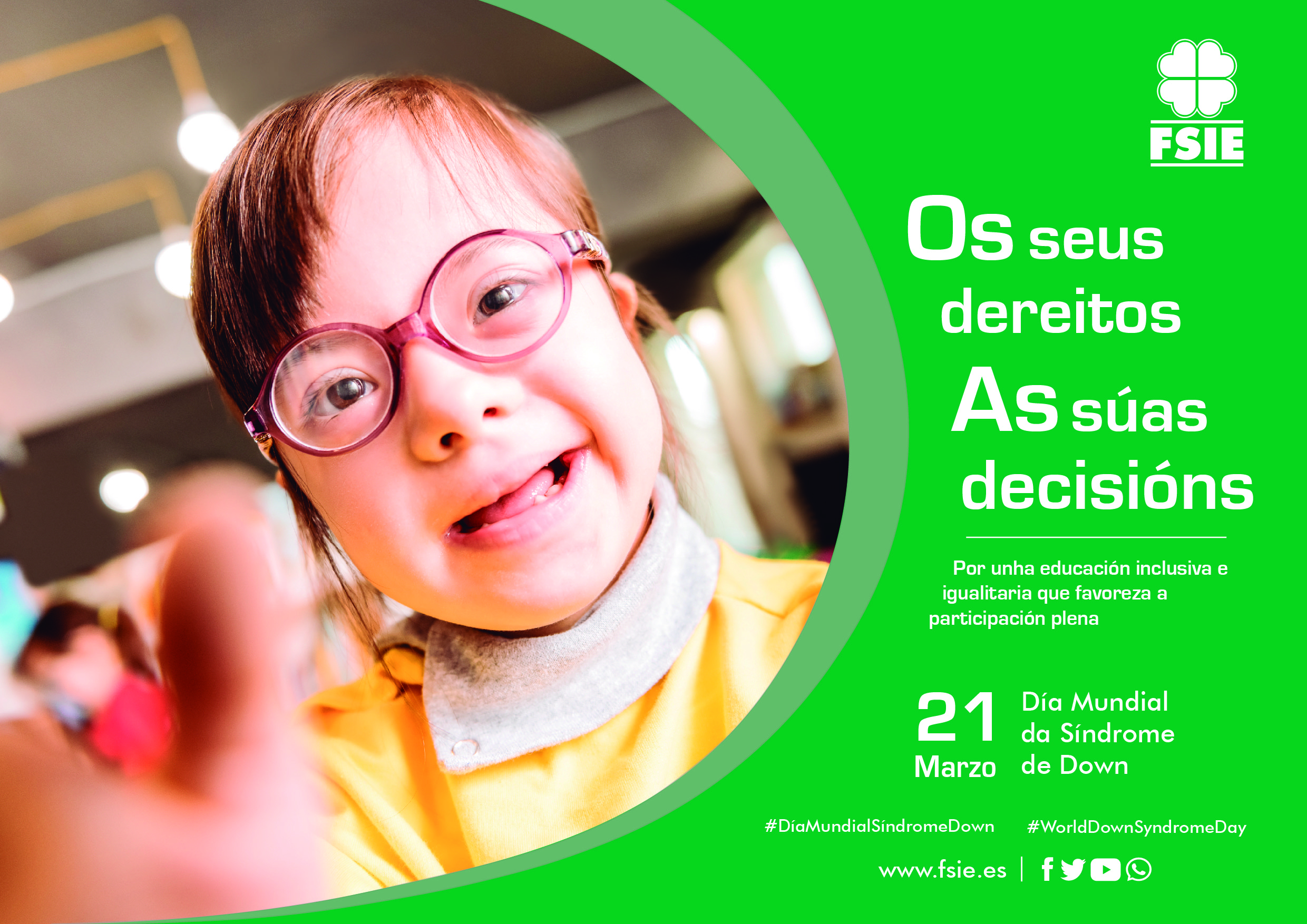 Cartel Dia Sindrome Down